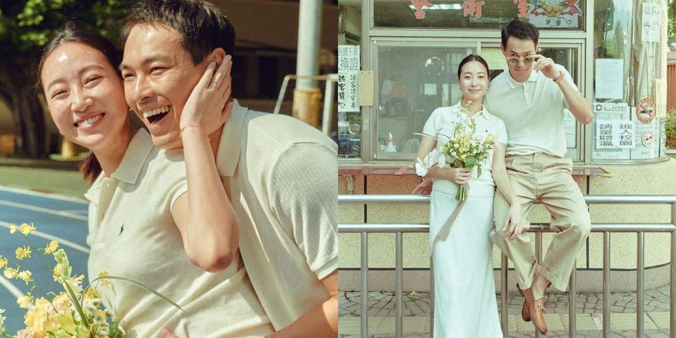 """楊祐寧公證結婚啦!柯佳嬿、林宥嘉、坤達....盤點明星婚紗照也是很""""文青""""-0"""