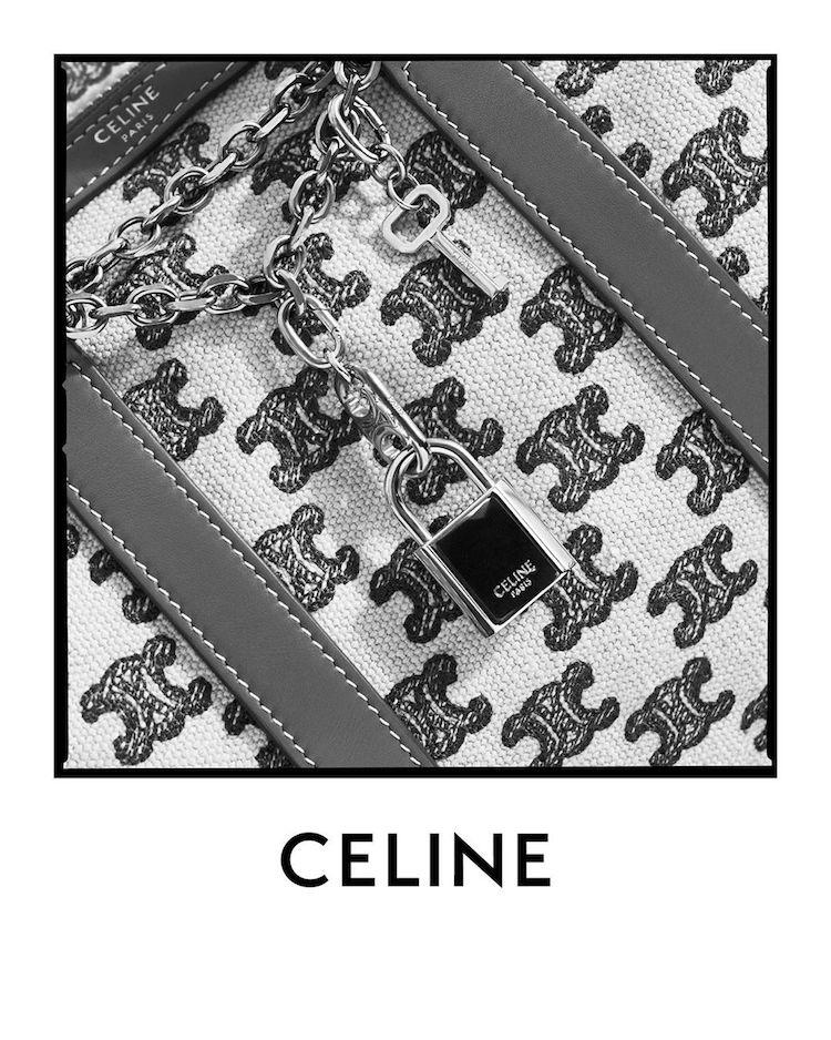 【10Why個為什麼】Celine靠它穩坐缺貨王!睽違50年Triomphe老花再回歸,連Blackpink Lisa都狂愛!-9