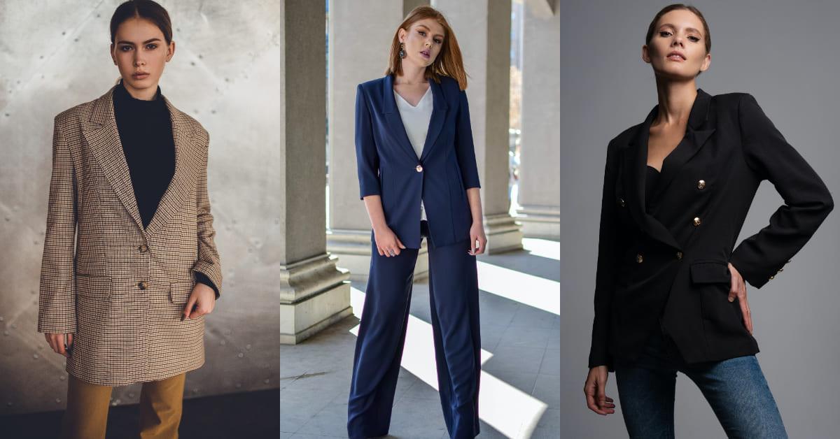 西裝外套穿搭看過來!格紋、純色...4招搭配可鹽可甜,想顯瘦絕對不能錯過「這項」-0