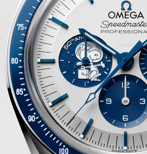 Omega × 史努比聯名萌度破「錶」!錶背還有史努比乘坐太空梭環繞月球微動畫,錯過得再癡癡的等了-3