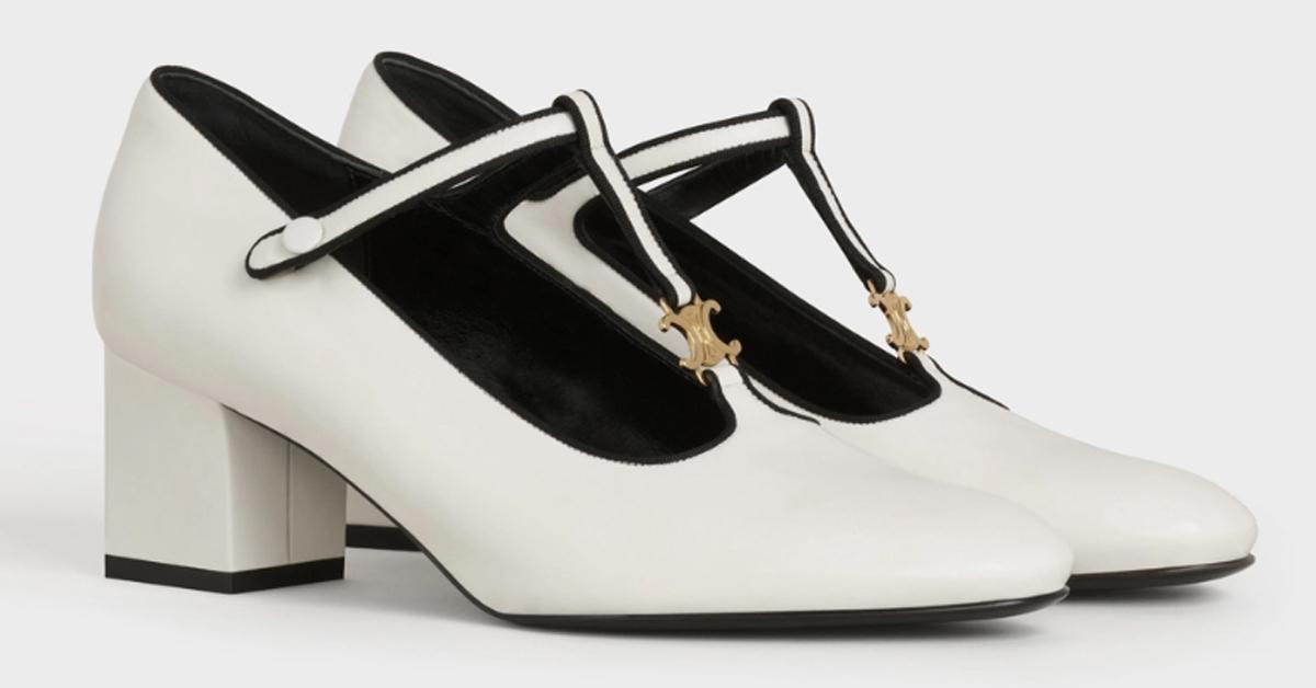 2021白色跟鞋推薦Top 8!Hermès、Chanel、LV、YSL...Celine瑪莉珍鞋IG炒翻-5
