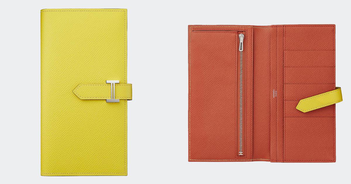 錢包推薦「亮麗黃」!Hermès、BV、Fendi、LV… 2021招財就靠8款精品錢包-2