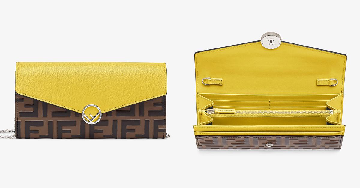 錢包推薦「亮麗黃」!Hermès、BV、Fendi、LV… 2021招財就靠8款精品錢包-4