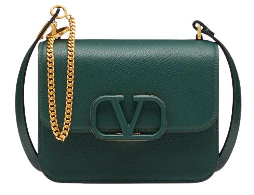 2020秋冬配件「綠」到不行!LV、Dior、Loewe...12款「深山綠」包,顯白度完勝大地色!-9
