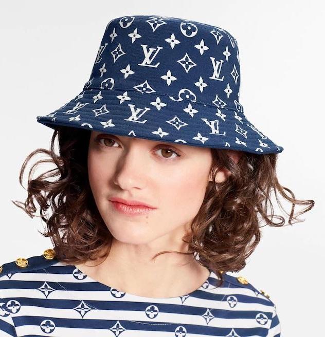 「漁夫帽」最修飾臉型!從「花色、材質、品牌」精準下手,6款2020年夏季人氣款一次看-2
