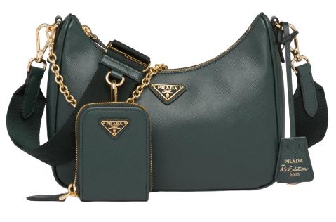 2020秋冬配件「綠」到不行!LV、Dior、Loewe...12款「深山綠」包,顯白度完勝大地色!-5