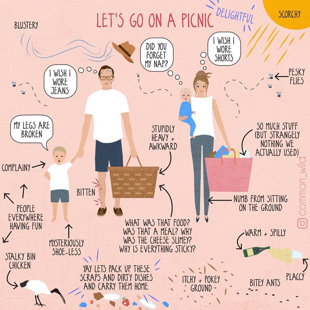 孩子就是半獸人啊!澳洲媽媽用IG插畫紀錄「當媽一定懂」的搞笑育兒日常-4