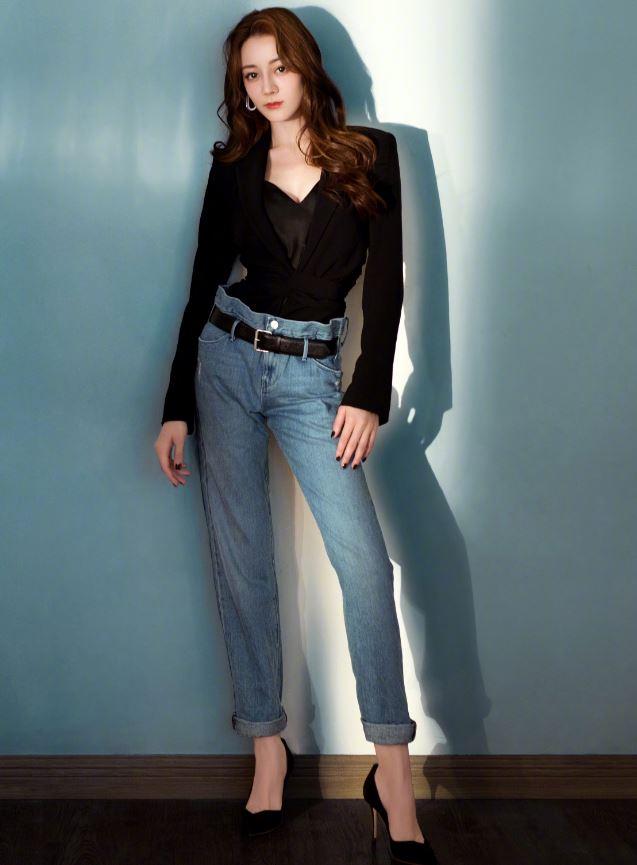 《長歌行》迪麗熱巴獲封「最會穿牛仔褲」的女人,掌握5大穿搭技巧 ,視覺激增+15CM!-0