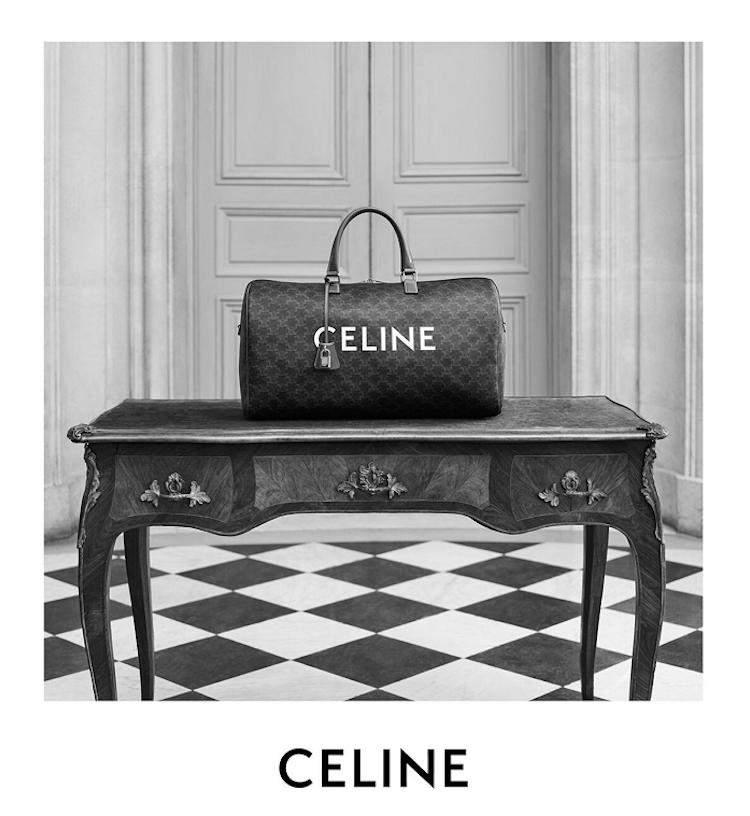 【10Why個為什麼】Celine靠它穩坐缺貨王!睽違50年Triomphe老花再回歸,連Blackpink Lisa都狂愛!-2