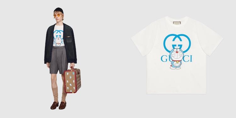 Gucci哆啦A夢聯名正式登場!水桶包 、托特包到皮夾,不是可愛,是可愛到死!-2