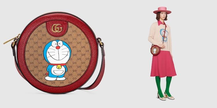 Gucci哆啦A夢聯名正式登場!水桶包 、托特包到皮夾,不是可愛,是可愛到死!-6