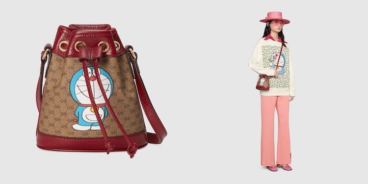 Gucci哆啦A夢聯名正式登場!水桶包 、托特包到皮夾,不是可愛,是可愛到死!-9