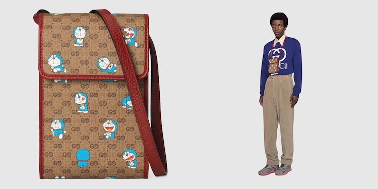 Gucci哆啦A夢聯名正式登場!水桶包 、托特包到皮夾,不是可愛,是可愛到死!-3