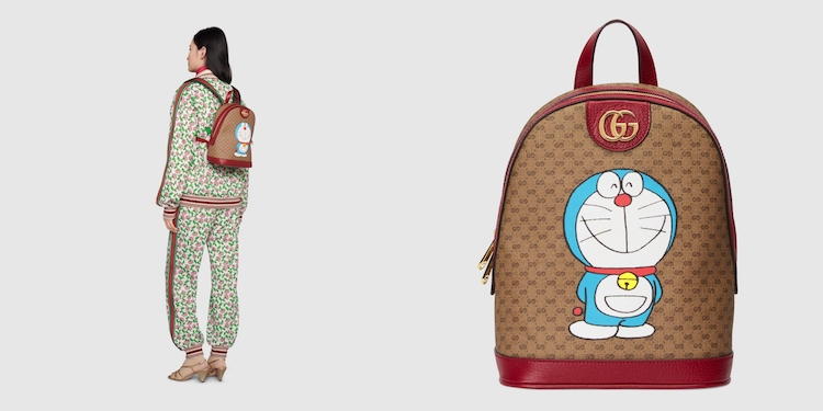 Gucci哆啦A夢聯名正式登場!水桶包 、托特包到皮夾,不是可愛,是可愛到死!-5