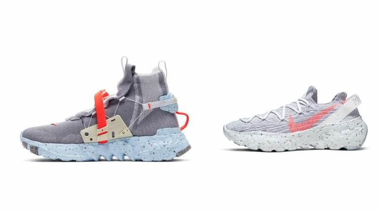 Nike換掉經典包裝?用廢棄回收再製推出全新「Space Hippie 」系列鞋款!-5
