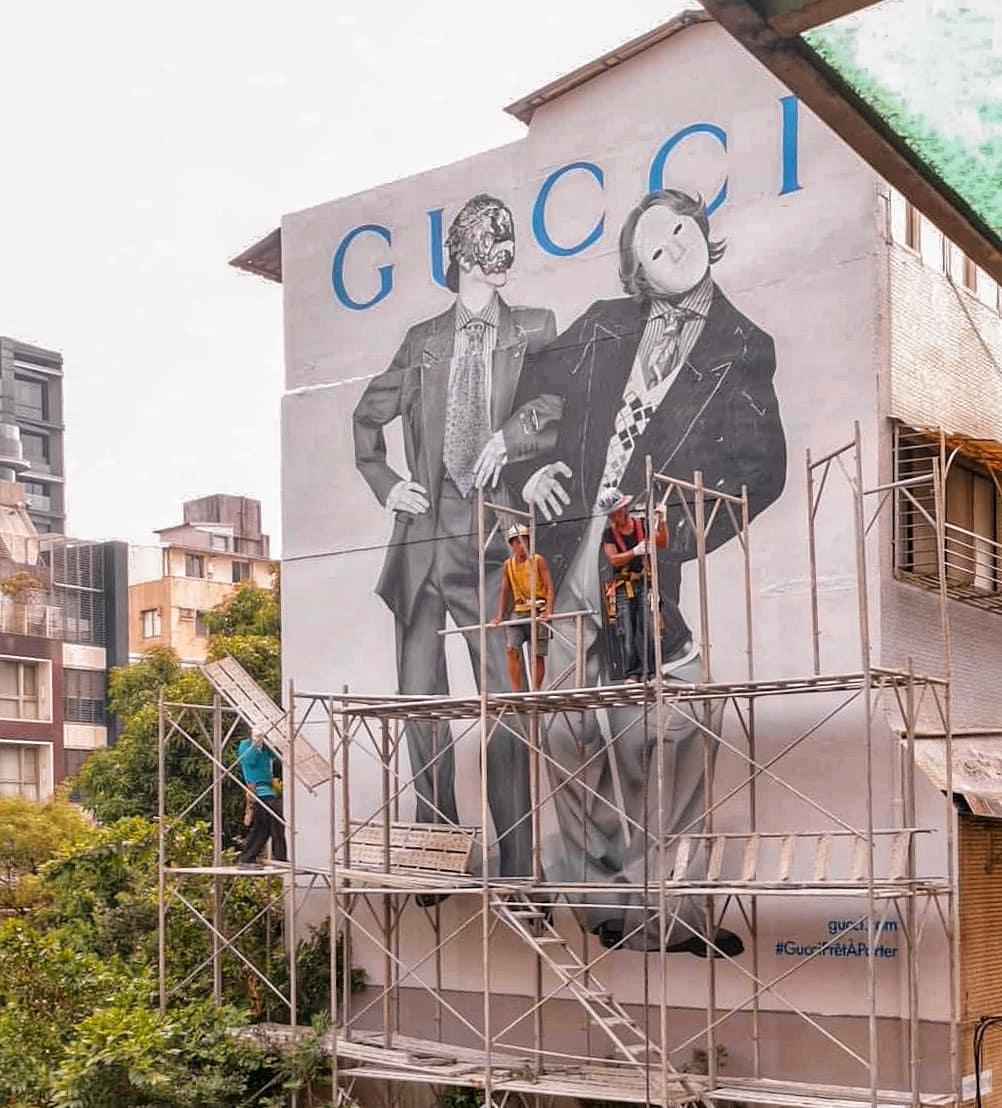 Gucci永康街藝術牆收攤倒數,打卡趁現在!回顧過去兩年來,你錯過的4個經典作品 -3
