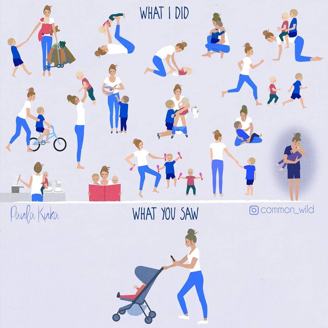 孩子就是半獸人啊!澳洲媽媽用IG插畫紀錄「當媽一定懂」的搞笑育兒日常-0
