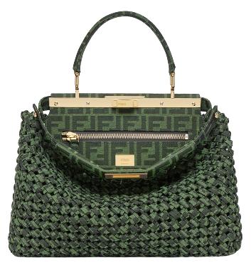 2020秋冬配件「綠」到不行!LV、Dior、Loewe...12款「深山綠」包,顯白度完勝大地色!-2