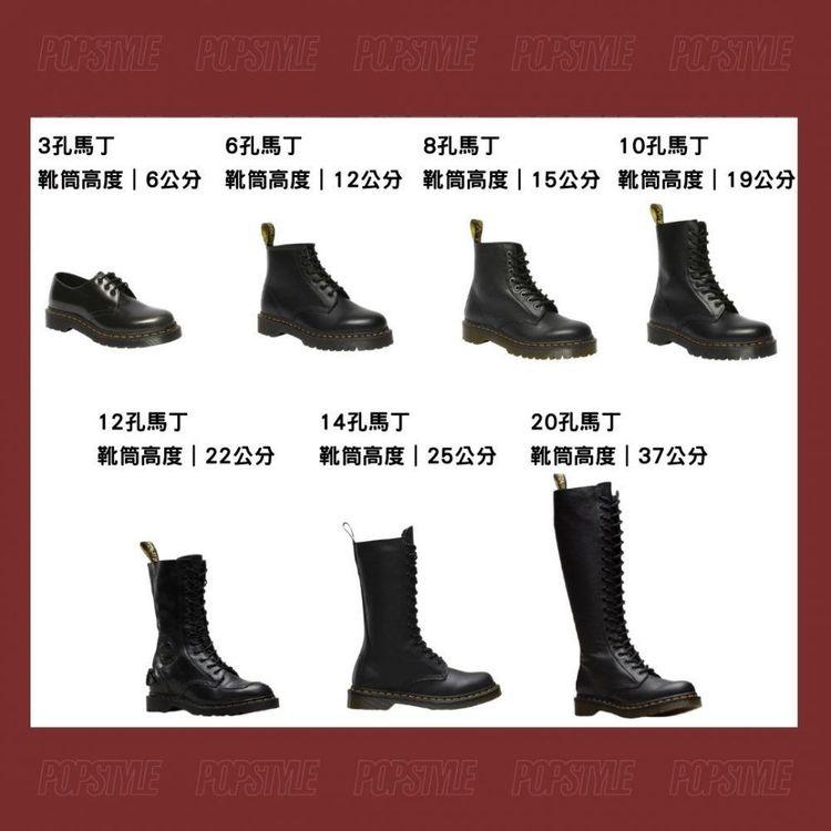 馬丁靴也有黃金比例?腿型、腳型簡易3招挑出最適合你的馬丁靴-0