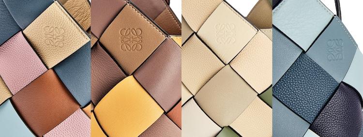"Loewe包包推薦「Woven Basket」 !多色彩寬版編織包,蘊含環保概念,每一款""都只有一個""!-2"