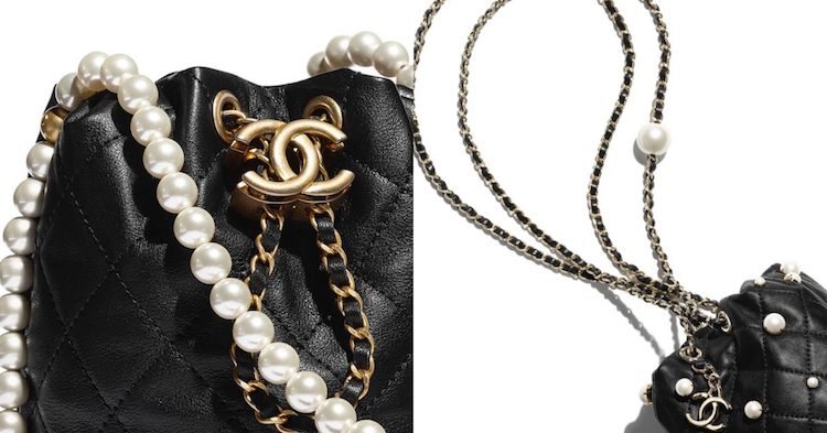 Chanel水桶包也要有「珍珠」!稜格紋、雙C Logo、粉色 ,2021女孩最想要的包就是它!-3