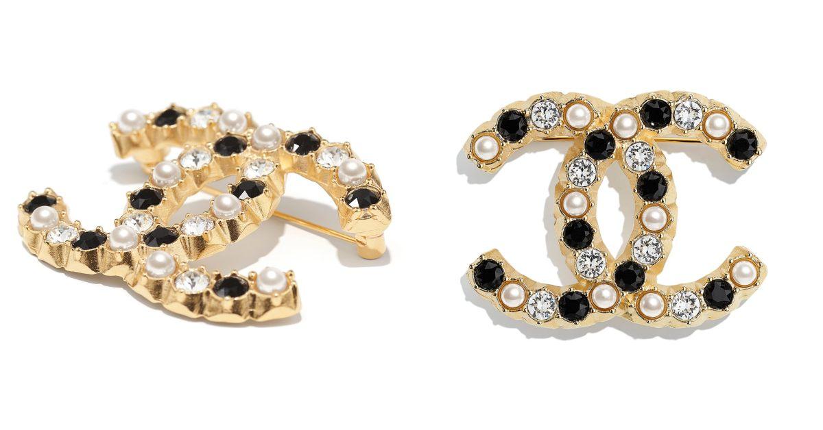 Chanel首飾推薦這10款胸針 !沒有2.55、19、boy chanel沒關係 ,cc logo胸針讓你秒變時尚部落客!-9