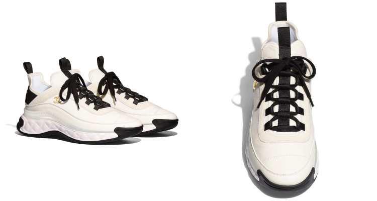 Chanel球鞋霸氣登場!盤點5款從純白、純黑到奶茶色,從秀場跑到田徑場都不違和-1