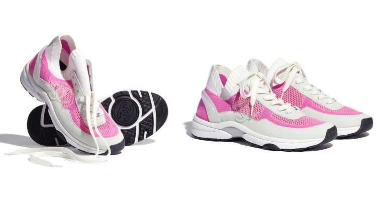 Chanel球鞋霸氣登場!盤點5款從純白、純黑到奶茶色,從秀場跑到田徑場都不違和-4