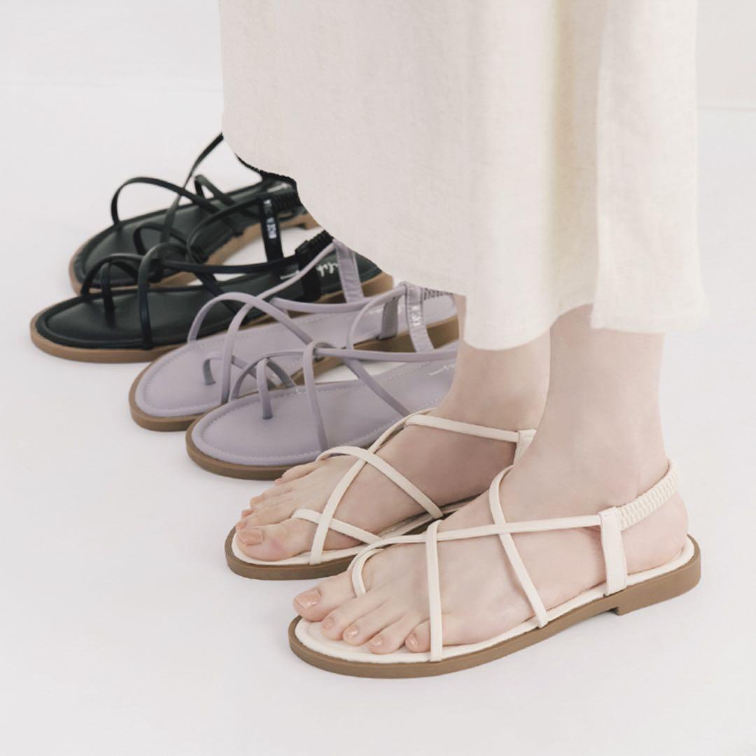 D+AF線上購物推薦5款涼鞋,方頭中跟會繼續紅下去,秒殺倒數奶茶色最欠買-2