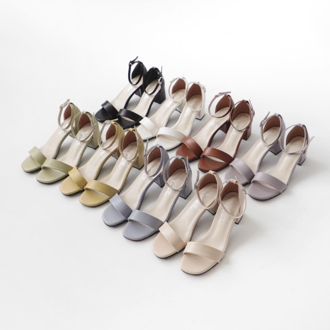 D+AF線上購物推薦5款涼鞋,方頭中跟會繼續紅下去,秒殺倒數奶茶色最欠買-1