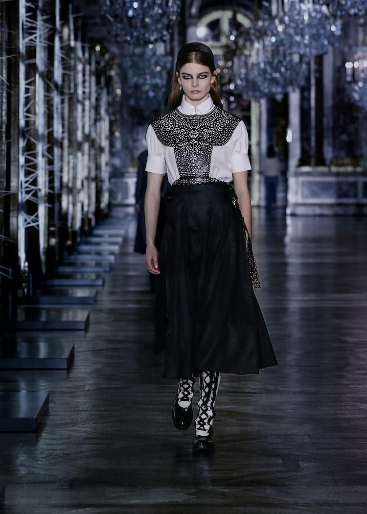 Dior蒙田包穿上豹紋!2021秋冬系列5大重點,珍珠配飾絕對大賣-4
