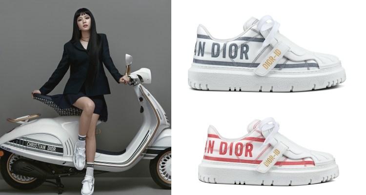 BLACKPINK智秀穿搭靠Dior這4款單品!厚底小白鞋完美比例必備,Lady D-Lite包下半年準備秒殺-1