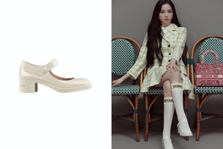 BLACKPINK智秀穿搭靠Dior這4款單品!厚底小白鞋完美比例必備,Lady D-Lite包下半年準備秒殺-2