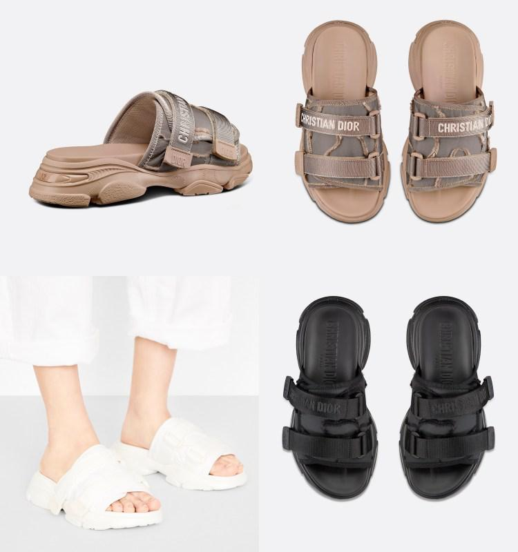 2021精品拖鞋推薦Top5!BV 、Dior、Balenciaga....LV螢光桃紅老花鐵定稱霸梅雨季節-2