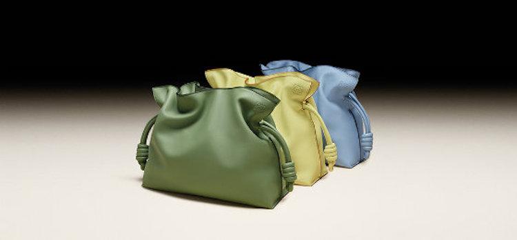 Loewe Puzzle包之後再推「束口袋包」 !酪梨綠、寶寶藍到萊姆黃,名列品牌終年熱賣款行列!-0