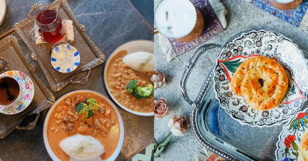 捷運東門站咖啡廳推薦「登陸土星」,印度咖哩 、米布丁、土耳其咖啡...中東風下午茶你吃過沒?-2