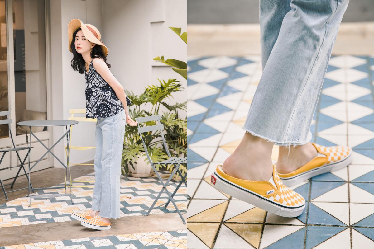 誰說穆勒鞋都走淑女風?跟著網紅方柒柒這樣穿,輕鬆駕馭 VANS 穆勒鞋-4