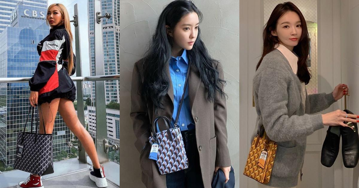韓國「平價版Goyard包」正夯!泫雅帶貨女王再出擊,韓妞們都搶著揹-3