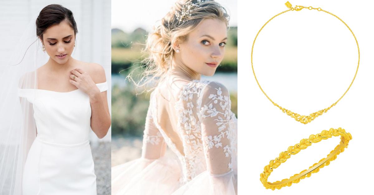 結婚金飾也可以化身日常時尚配件?奢華風格已經過時了,「這種」款式才是真流行-2