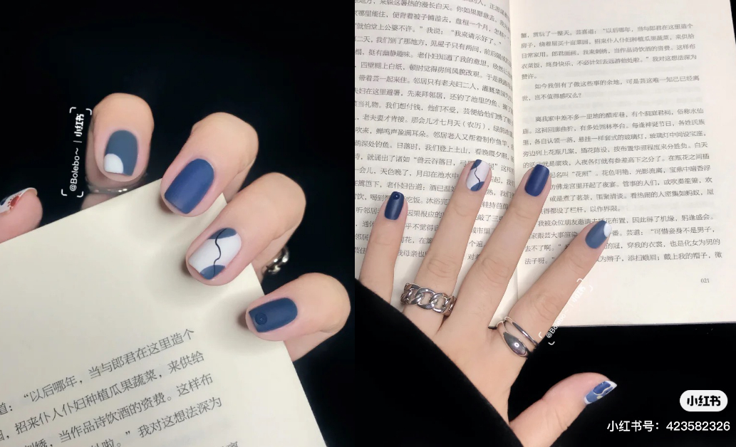 2021美甲流行色推薦「藍莓色」!3大光療趨勢推薦,台灣人顯白靠這款-1