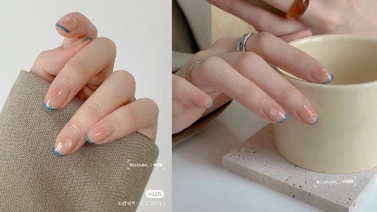 2021光療趨勢推薦「腮紅美甲」!5款超顯白造型,玫瑰粉、法式蜜桃....韓妞最愛是這款-3
