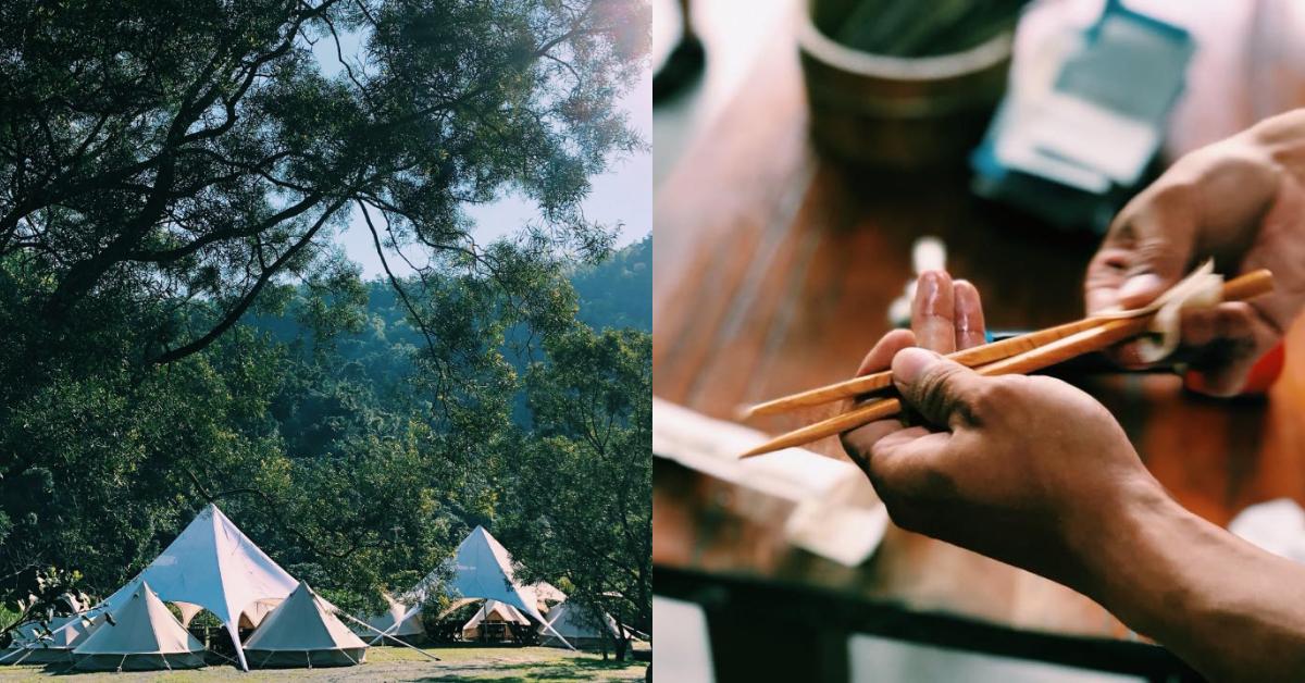 北部「懶人露營」推薦這5處!「飛鳥恰恰」一泊五食太享受,「飛鼠不渴」位在海拔900公尺-3
