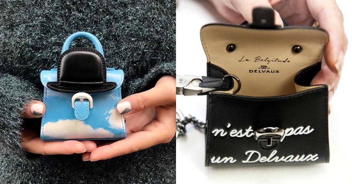 「比利時愛馬仕」Delvaux推出日本限定款!歌舞伎、鮭魚壽司迷你包,原裝空運抵台超欠買!-0