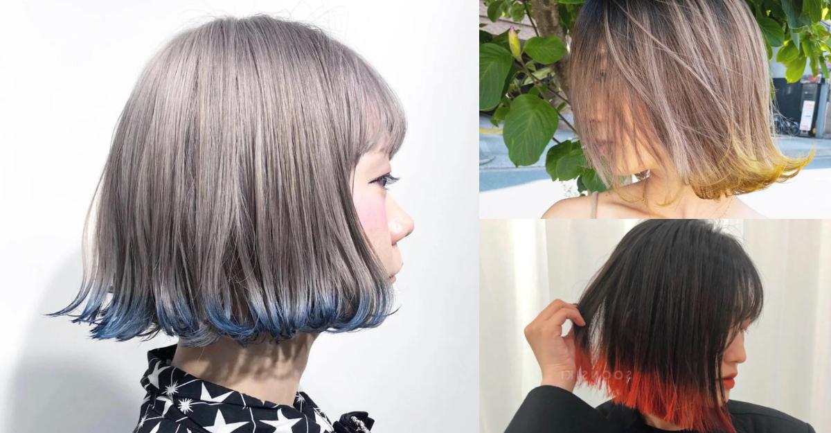 2021染髮推薦「裙擺染」,金多美同款不退燒!高級時尚感人見人愛-2