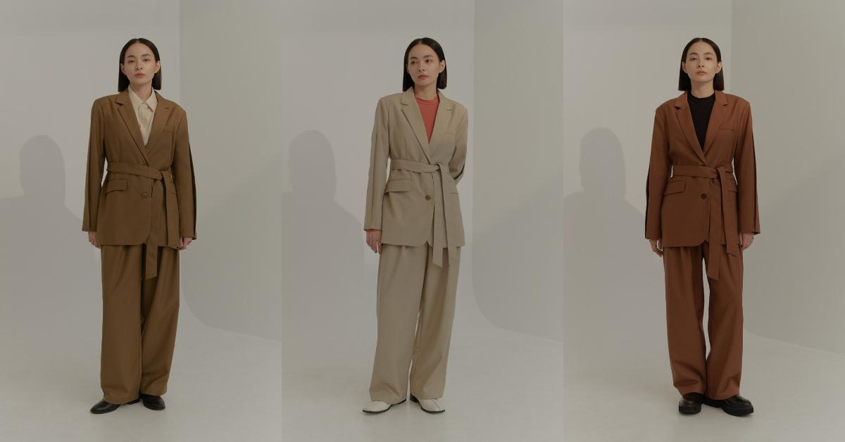 2021成套西裝穿搭,打造時尚街頭感,跳脫你對套裝的既定印象!-1