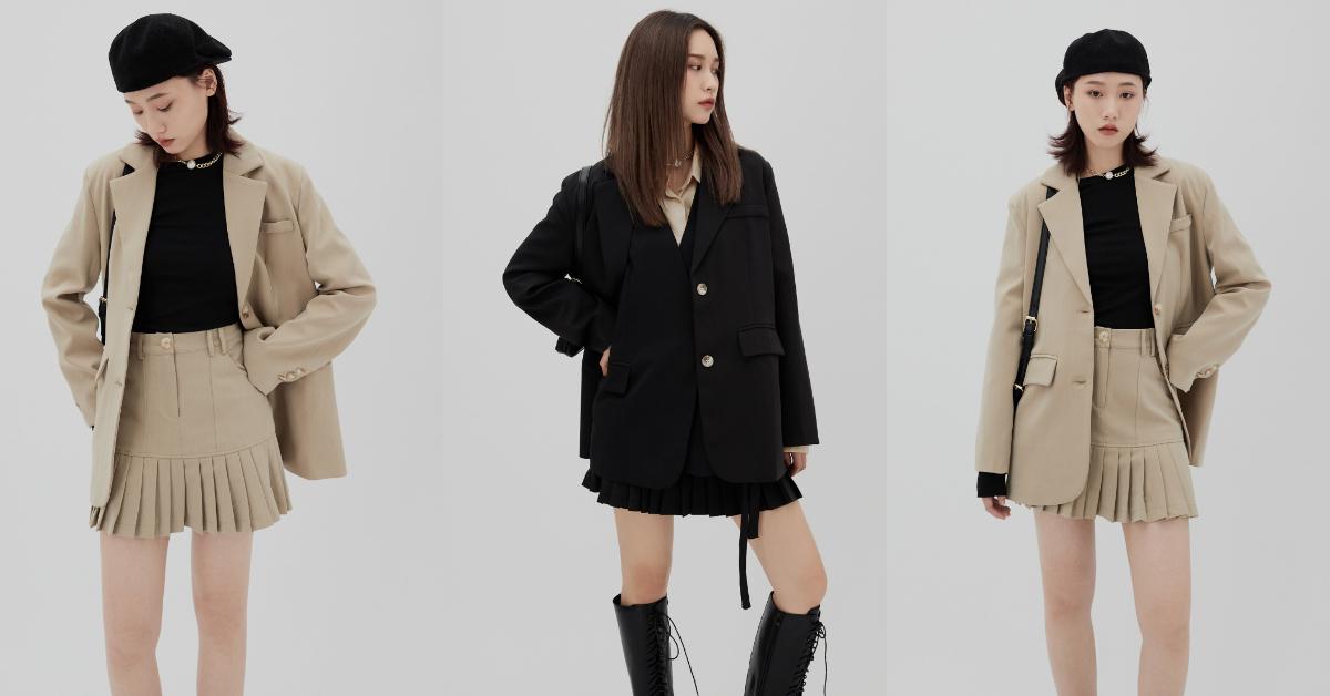 2021成套西裝穿搭,打造時尚街頭感,跳脫你對套裝的既定印象!-4