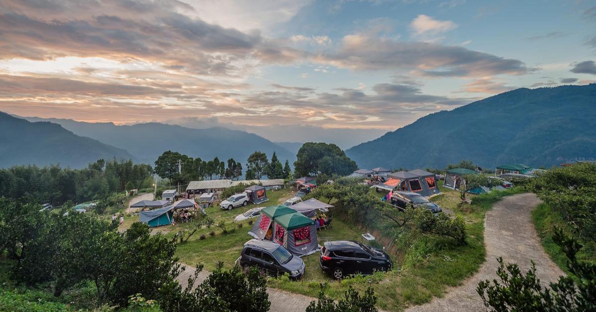 北部「懶人露營」推薦這5處!「飛鳥恰恰」一泊五食太享受,「飛鼠不渴」位在海拔900公尺-0