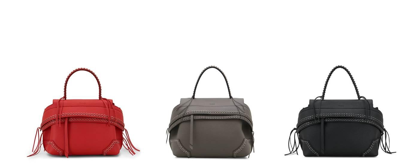 2017年秋冬TOD'S Wave Bag系列包款