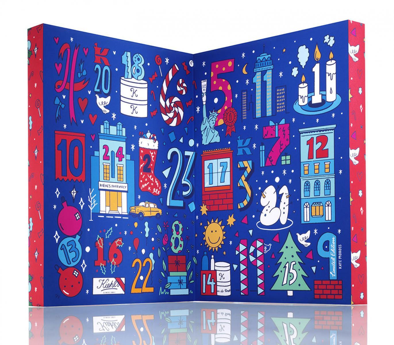 Kiehl's X Kate Moross 聖誕倒數月曆 NT$2,800