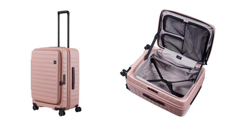 日本行李箱品牌LOJEL真的美翻!輕巧、好推又耐裝,國內小旅行也超適合呀!-2